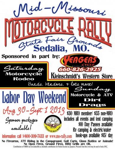 Mid-Missouri Motorcycle Rally