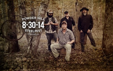 Powder Mill at SteelFest on 8-30-14