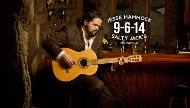 Jesse Hammock at Salty Jack's in Eminence, MO on 9-6-14
