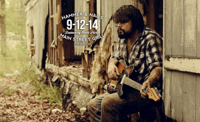 Jesse Hammock at Main Street Grill in Jonesboro, AR on 9-12-14 with Hammer and Nails featuring Matt Pierce.