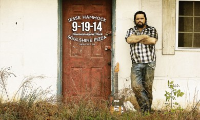 Jesse Hammock at Soulshine Pizza Factory in Nashville, TN on 9-19-14 for AmericanaFest Week